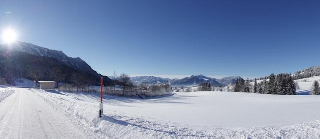 Winterimpression v. Kalchenbach Richtung Rettenberg
